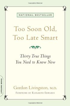 Too Soon Old, Too Late Smart book cover