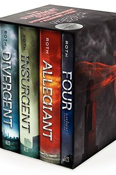 Divergent / Insurgent / Allegiant / Four 4 Volumes book cover