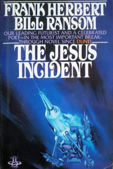 the Jesus Incident book cover