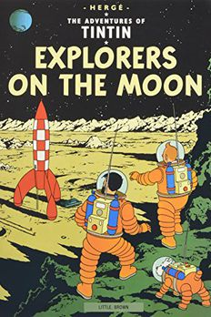 Explorers on the Moon book cover