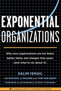 Exponential Organizations book cover