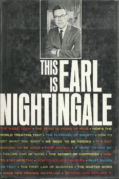 This is Earl Nightingale book cover