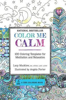 Color Me Calm book cover