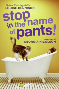 Stop in the Name of Pants! book cover