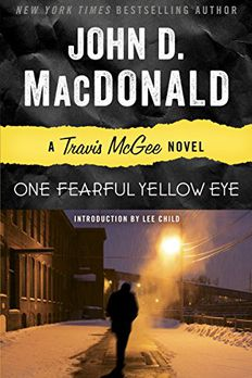 One Fearful Yellow Eye book cover