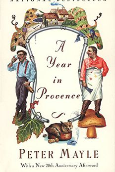 A Year in Provence book cover