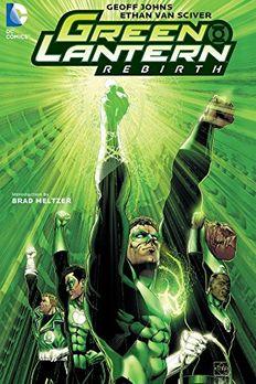 Green Lantern book cover