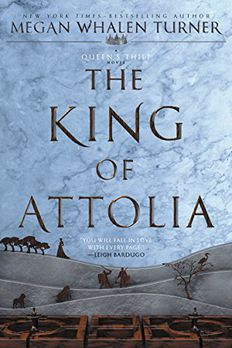 The King of Attolia book cover
