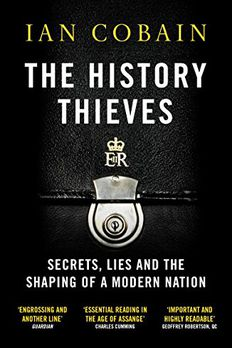 The History Thieves book cover