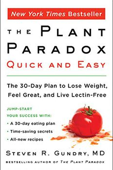 The Plant Paradox Quick and Easy book cover