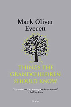 Things the Grandchildren Should Know book cover
