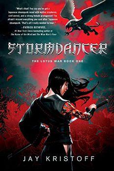 Stormdancer book cover