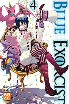 Blue Exorcist, Vol. 4 book cover
