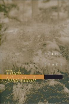 Being Peace by Thich Nhat Hanh published by Parallax Press book cover