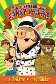 The Adventures of Nanny Piggins book cover