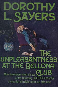 The Unpleasantness at the Bellona Club book cover