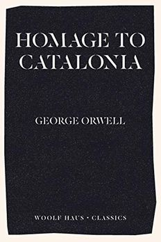 Homage to Catalonia book cover