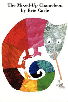 The Mixed-Up Chameleon Board Book book cover