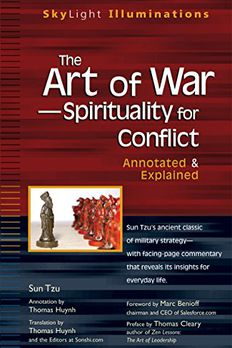 The Art of War -- Spirituality for Conflict book cover