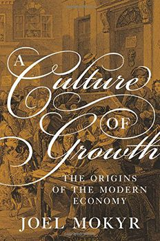 A Culture of Growth book cover