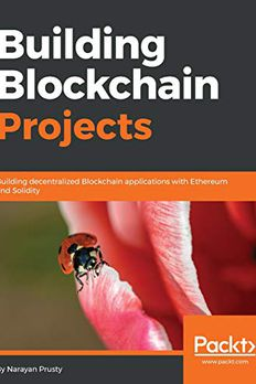 Building Blockchain Projects book cover