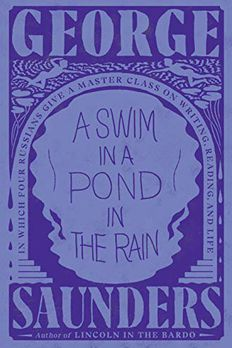 A Swim in a Pond in the Rain book cover