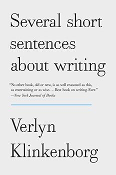 Several Short Sentences About Writing book cover