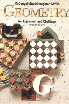 Geometry for Enjoyment and Challenge book cover