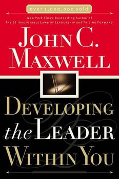 Developing the Leader Within You book cover