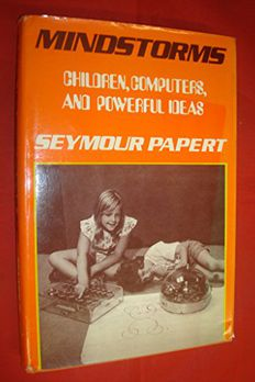 Mindstorms by Seymour PapertHardcover book cover