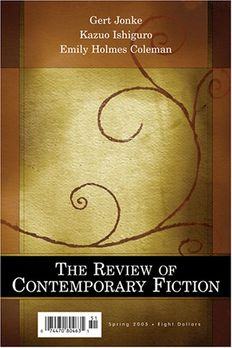 Review of Contemporary Fiction book cover