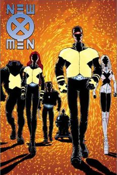 New X-Men by Grant Morrison book cover