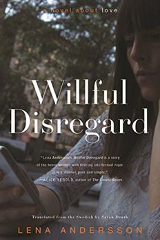 Willful Disregard book cover