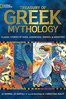 Treasury of Greek Mythology book cover