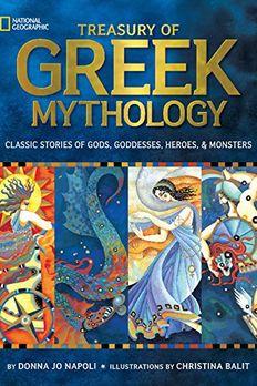 Treasury of Greek Mythology book cover