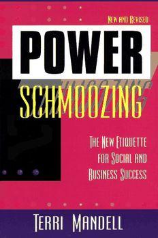 Power Schmoozing book cover