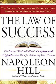 The Law of Success book cover