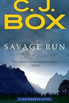 Savage Run book cover