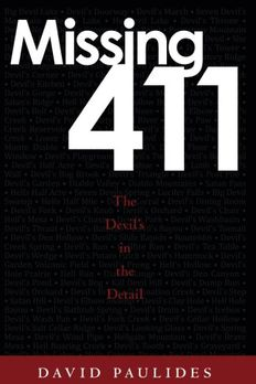 Missing 411 book cover