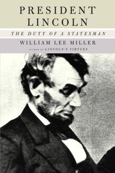 President Lincoln book cover