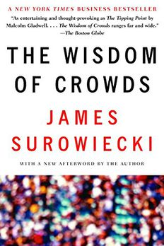 The Wisdom of Crowds book cover