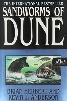 Sandworms of Dune book cover