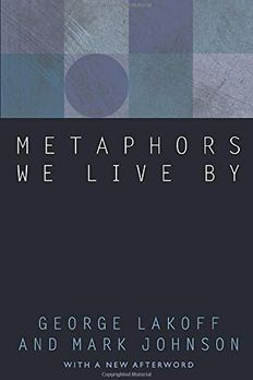 Metaphors We Live By book cover