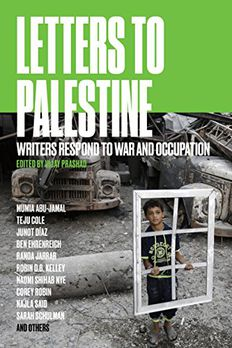 Letters to Palestine book cover
