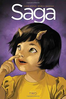 Saga Book Two book cover