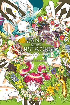 Land of the Lustrous, Vol. 4 book cover