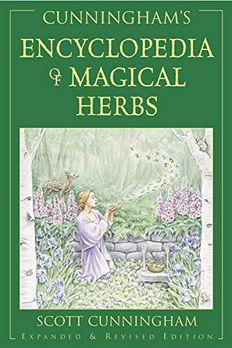 Cunningham's Encyclopedia of Magical Herbs (Llewellyn's Sourcebook Series) book cover