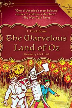 The Marvelous Land of Oz book cover