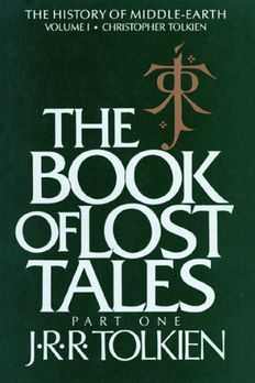 The Book of Lost Tales, Part One book cover