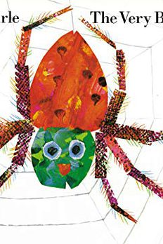 The Very Busy Spider book cover